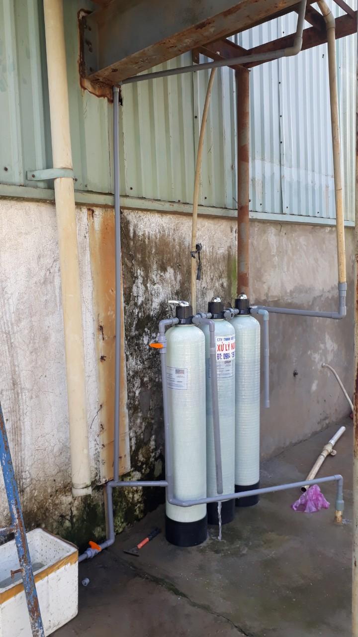 Bộ lọc áp lực composite 1054 lọc phèn sắt, mùi tanh hôi