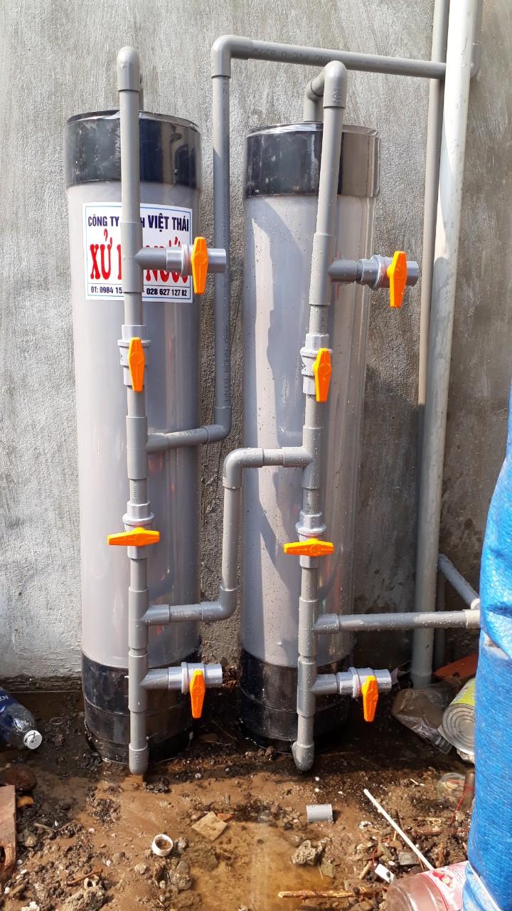 lọc nước phèn sinh hoạt ở đức hòa long an