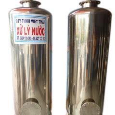 cột lọc nước giếng khoan bằng vật liệu inox 304 cho sinh hoạt gia đình, cty, trường học...